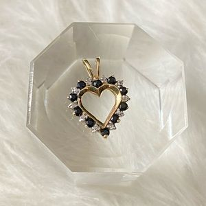 Jewelry - 10K Solid Gold Heart Pendant